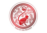 2016 year of the monkey