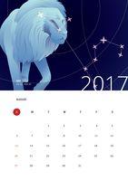 October Calendar 2017 Labor Day