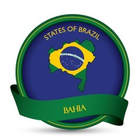 Bahia map label