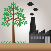 Image result for Industrial Pollution clip art