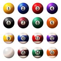 Billiard ball collection