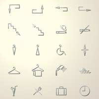 Collection of assorted icons