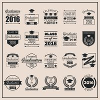 Collection of class of 2016 designs
