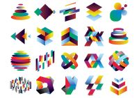 Collection of colorful patterns