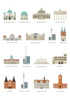 Collection of germany monuments