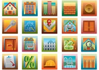 Collection of property related icons