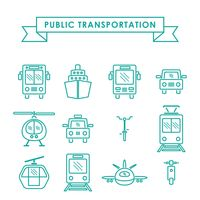 Collection of public transportation