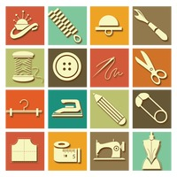 Popular : Collection of sewing equipment