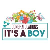 Congratulations its a boy