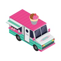Crepes truck