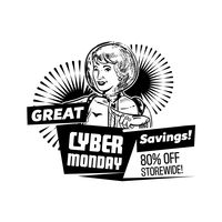 Cyber monday great savings