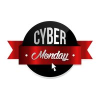 Cyber monday label