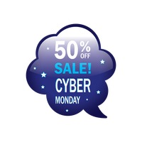 Cyber monday sale bubble