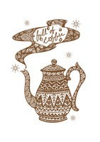 Decorative teapot design