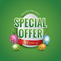 Easter holiday special offer