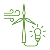Eco bulb and windmill