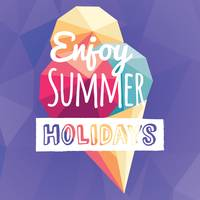 Enjoy summer holidays card