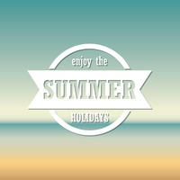 Enjoy the summer holidays wallpaper