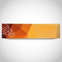 Faceted banner