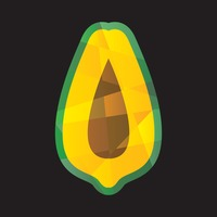 Faceted papaya
