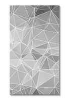Faceted wallpaper for mobile phone