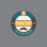 Father's day greeting design