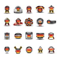German emblems collection
