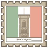 Giotto's campanile postal stamp