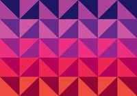 Gradient triangle pattern