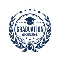 Graduation label
