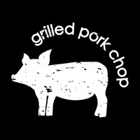 Grilled pork chop wallpaper