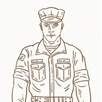 Hand drawn soldier