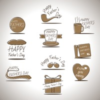 Happy father's day greeting collection