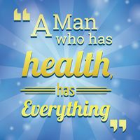 Health motivational quote
