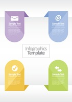 Infographic web icons