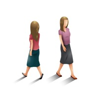 Isometric women
