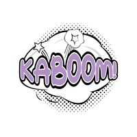 Kaboom comic speech