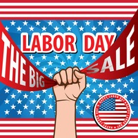Labor day sale design