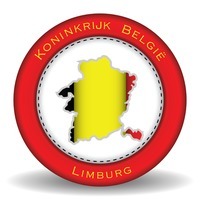 Limburg map sticker