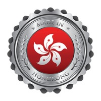 Made in hong kong badge