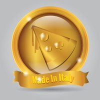 Made in italy badge