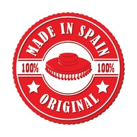 Made in spain stamp