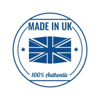 Made in uk label