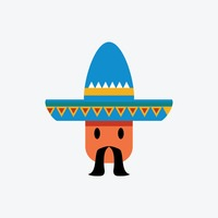 Man wearing mexican hat