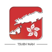 Map of tsuen wan