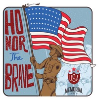 Memorial day label