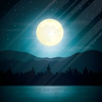 Moonlight background