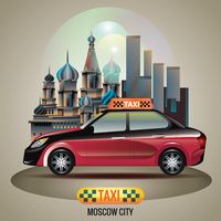 Moscow city taxi