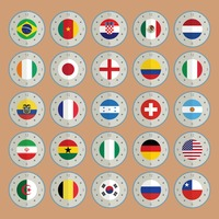 National flag dials