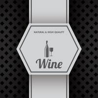 Natural and high quality wine design